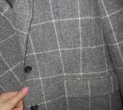 Kockás vintage őszi/tavaszi kabátka