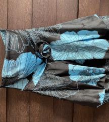Alkalmi S   méretű selyem pánt nélküli ruha