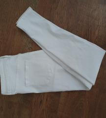 Új (cimkés) fehér high waist farmer