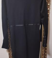Max Mara fekete ruha 40
