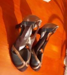 Szines bőr cipő