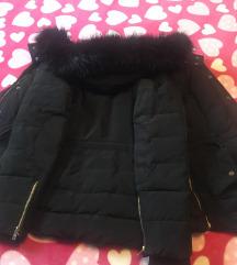eladó 2x viselt téli rövid kabát