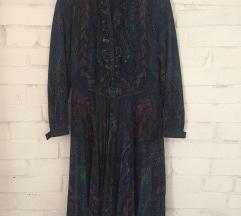Különleges mintás vintage ruha