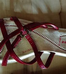 Fly Shoes Comfort Line piros papucs pántos új