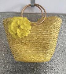 Sárga nyári táska