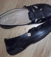 HOTTER fekete bőr komfort balerina, újsz,42-42,5