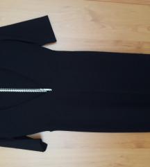 H&M fekete bodycon maxi ruha