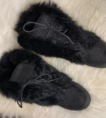 Női bundás cipő, 38