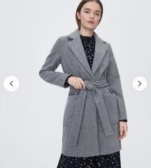 Szürke átmeneti kabát