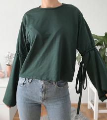 Zara zöld pulóver