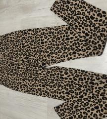 Magasított dereku leopard mintás
