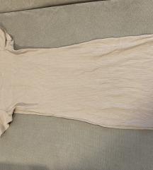 Nude bodycon ruha