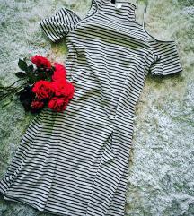 H&M divided csíkos ruha