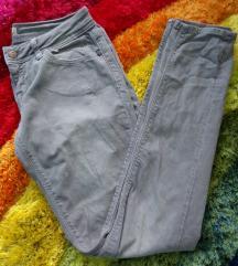 Retro nadrág, koptatott szürke