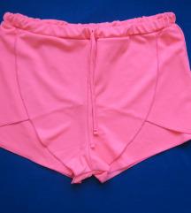 Neon rózsaszín rövidnadrág