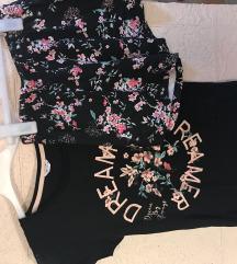 Virágos pizsama