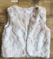 H&M kislány sötétkék téli dzseki, Dunaharaszti gardrobcsere.hu