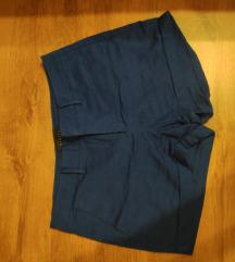 Kék elegáns rövidnadrág