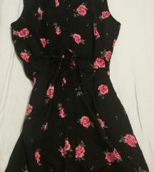H&M virágmintás ruha, tunika 36os