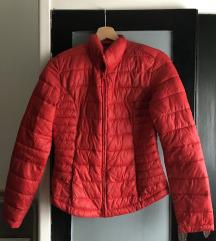 Pufi kabát piros