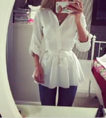 Zara fehér felső / ing / blúz XS
