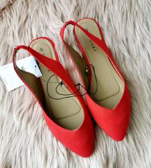 Új Sinsay lapos talpú piros cipő