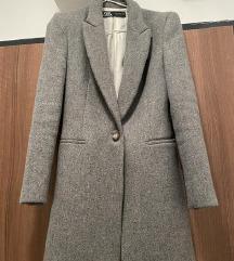 Elegans új zara kabát szürke szövetkabát