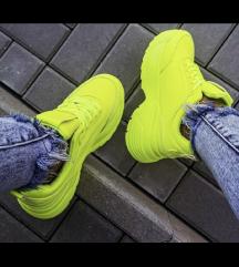 Új neon cipő