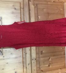 ÚJ! Piros csipkés ruha H&M