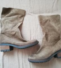 Barna csizma, cipő ( 37 méret, cipzáros)