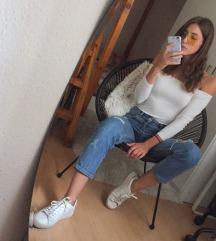 H&M fehér felső S