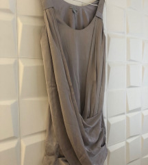 H&M szürkés alkalmi, koszorúslány ruha
