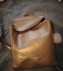 Bronzos barna hátizsák