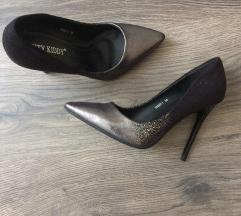 Ombre magassarkú cipő 36