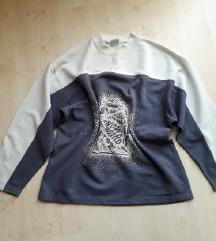 Retró, oversized pulóver, S-L