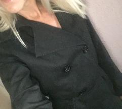 Fekete trench coat