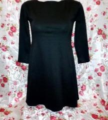 Új fekete 3/4 ujjú kis ruha M