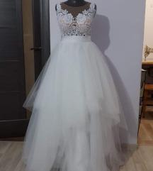 Menyasszonyi ruha xs/s meret