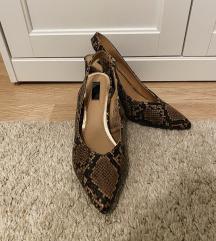 F&F kígyómintás cipő - ÚJ!