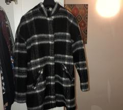 H&M kockás téli kabát