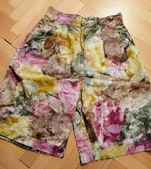 Vintage virágos short