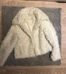 HM teddy kabátka