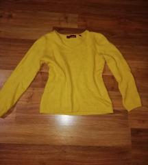 Mustársárga pulcsi S