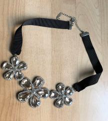H&M virágos nyaklánc