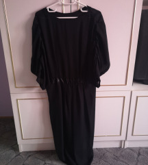 Fekete hosszú ruha