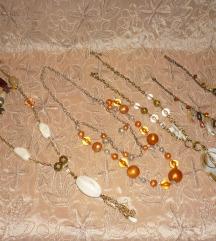 Új - Aranyszínű gyöngyös hosszú nyaklánc