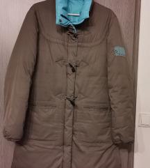 Barna hosszú kabát