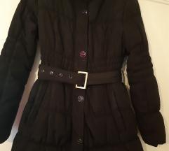 Új fekete téli kabát S/M