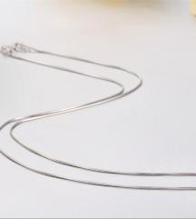 Vékony ezüst nyaklánc