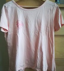 Reserved nyitott hátú feliratos póló M